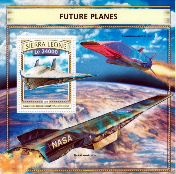 Block: Zukünftige Flugzeuge 2016