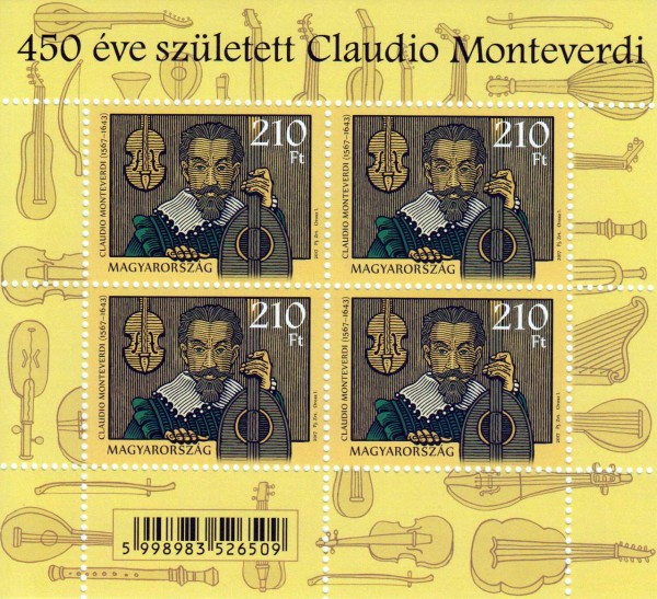 Block: Claudio Monteverdi, Komponist