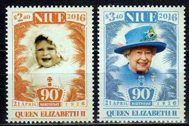90. Geburtstag Queen Elisbeth