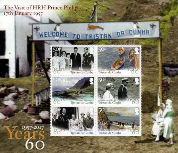 Block: Besuch von Prinz Philip, Boote