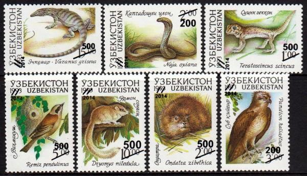 Fauna 1993, Überdruck 2014