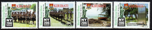 World Stamp Show NY 2016, Boot