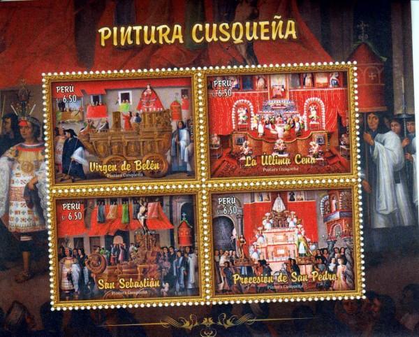 Block: Cusqueña Gemälde