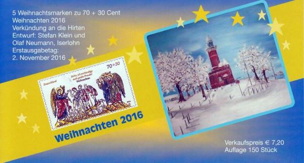 Kieler Philatelistenverein, Weihnachten 2016