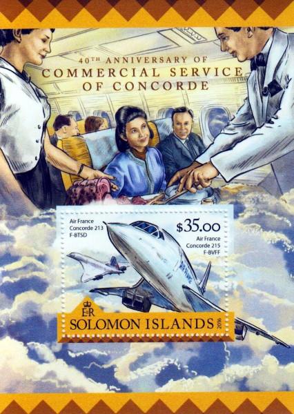 Block: Flüge der Concorde
