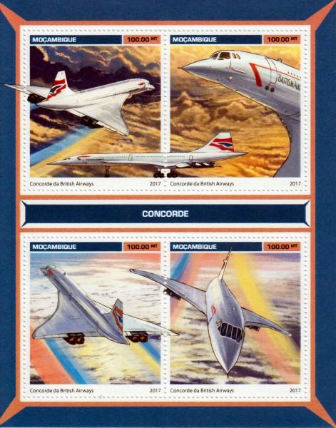 Concorde 2017, Flugzeuge
