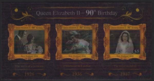 Block: 90. Geb. Queen, Wackelbilder (P06)