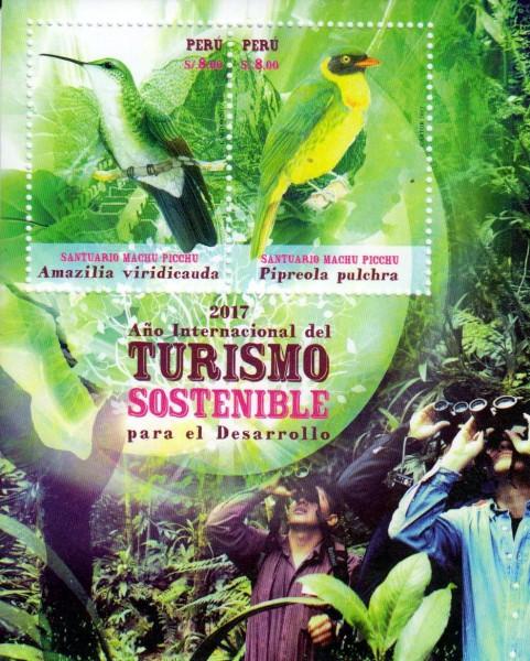Block: Intern. Jahr des nachhaltigen Tourismus, Vögel