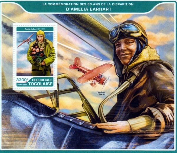 Block: Amelia Earhart 2017, Flugzeug