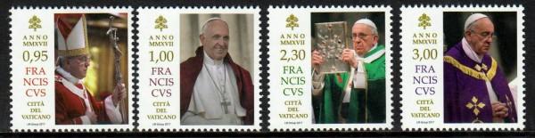 Pontifikat Papst Franziskus, gestempelt