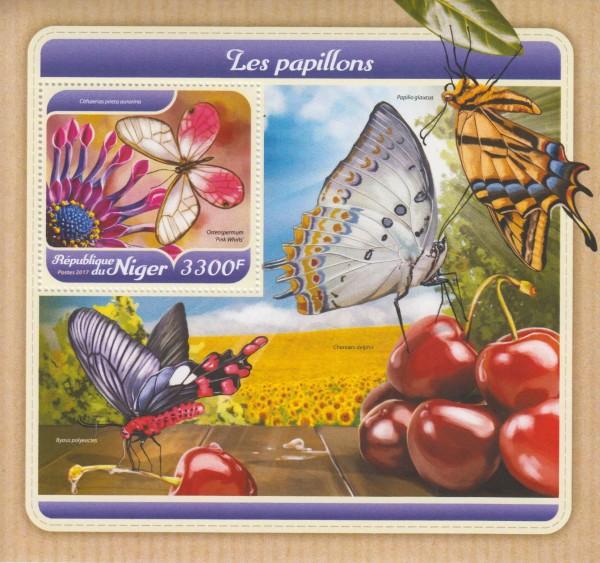 Block: Schmetterlinge, Cithaerias pireta