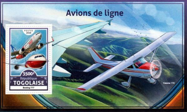 Block: Linienflugzeuge 2016