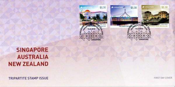 FDC: Parlamentsgebäude 2015 (P15) GA
