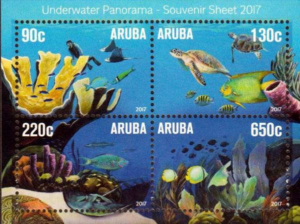 Block: Unterwasser Panorama, Fisch