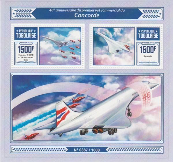 Block: Concorde, Flugzeug