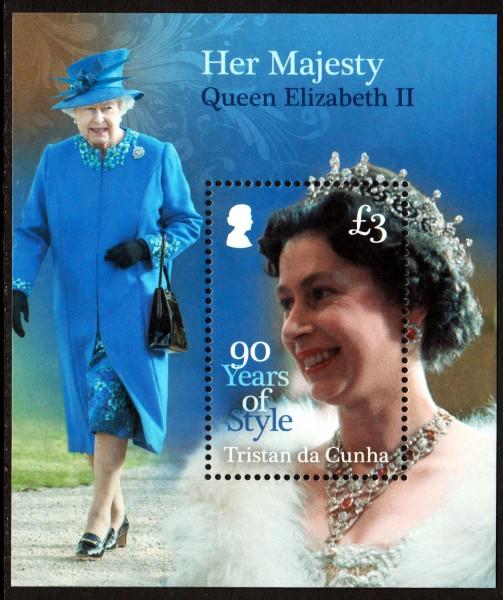 Block: 90. Geb. Queen Elisabeth II