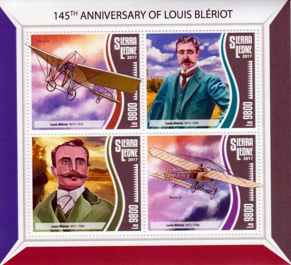 145. Geb. Louis Bleriot, Alte Flugzeuge